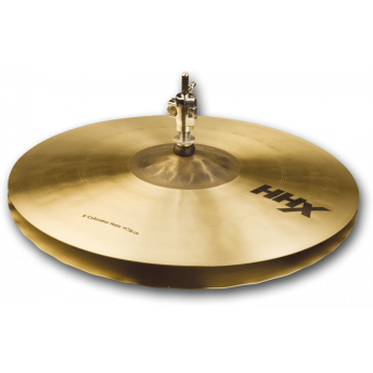 "SABIAN – HHX 14"" X-CELERATOR HI-HAT CYMBALS – NATURAL FINISH"