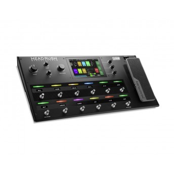 "HeadRush FX Amp Modelling and Multi-FX Pedalboard Quad Core Processor 7"" Touch Screen"
