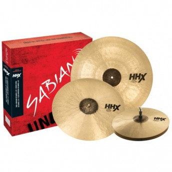 Sabian HHX Complex Performance Cymbal Set 15/19/22 - 15005XCN