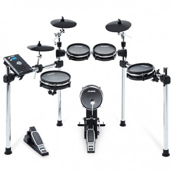 Alesis Command Mesh Kit - 8-Piece Electronic Drum Kit with All Mesh Heads