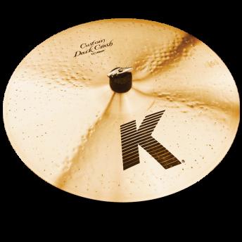 "Zildjian K0952 K Custom 17"" Dark Crash Cymbal"