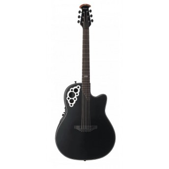 OVATION - 2078KK 5S - Kaki King Signature Elite® Plus - Black Satin