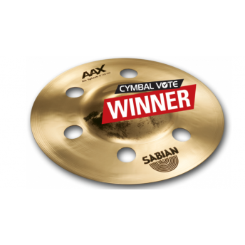 "SABIAN – AAX 8"" AIR SPLASH CYMBAL – BRILLIANT FINISH"