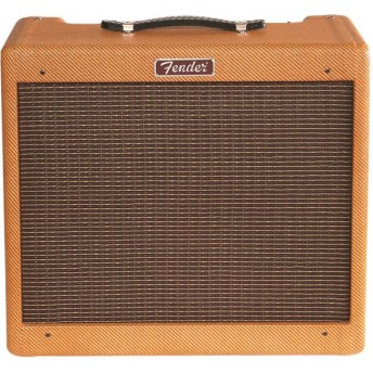 "Fender - Blues Junior Lacquered Tweed, 1x12"" Jenson C-12N 15W Combo Guitar Amplifier"