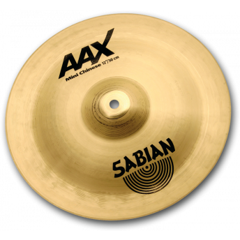 "SABIAN – AAX 14"" MINI CHINESE CYMBAL – NATURAL FINISH"