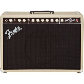 "Fender - Super-Sonic 22 - Blonde - 1x12"" Combo Guitar Amplifier"