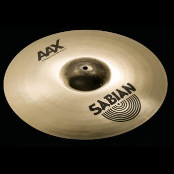 "SABIAN – AAX 18"" X-PLOSION FAST CRASH CYMBAL – BRILLIANT FINISH"