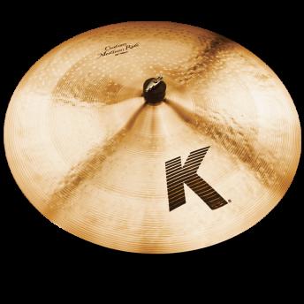 "Zildjian K0856 K Custom 22"" Medium Ride Cymbal"