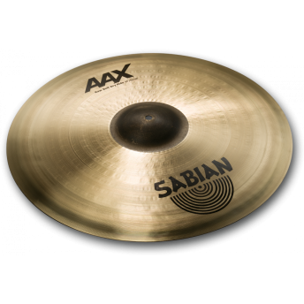"""SABIAN – AAX 21"""" RAW BELL DRY RIDE CYMBAL – NATURAL FINISH"""
