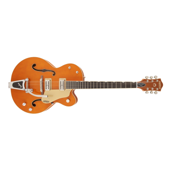Gretsch - G6120SSLVO Brian Setzer Nashville with Bigsby, TV Jones Setzer Pickups, Vintage Orange Stain