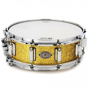 "Rogers DynaSonic 14""x5"" Snare Drum - Gold Sparkle Lacquer Finish 36-GSL"
