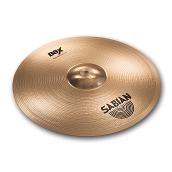 "SABIAN – B8X 18"" CRASH RIDE CYMBAL – NATURAL FINISH"