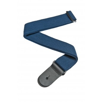PLANET WAVES – 50CT03 – COTTON GUITAR STRAP – BLUE