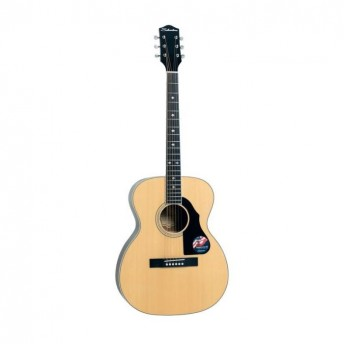 Silvertone Solid Top Orchestra Natural Finish Acoustic Guitar