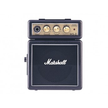 MARSHALL – MS-2 – MICRO AMP – BLACK