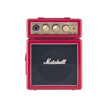 MARSHALL – MS-2R – MICRO AMP – RED