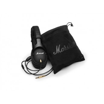 MARSHALL – MONITOR-B MONITOR HEADPHONES – BLACK
