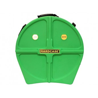 "HARDCASE – 22"" CYMBAL CASE LIGHT GREEN – HOLDS 9 CYMBALS"
