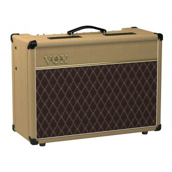"VOX – AC15 CUSTOM WHITE BRONCO 15W 1X12"" GUITAR AMP COMBO [LIMITED EDITION]"