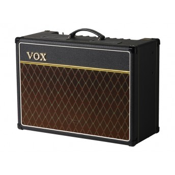 "VOX – AC15 CUSTOM 15W 1X12"" GUITAR AMPLIFIER COMBO W/ALNICO BLUE"