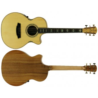 COLE CLARK – ANGEL 3 HUON PINE/BLACKWOOD CUTAWAY GRAND AUDITORIUM GUITAR