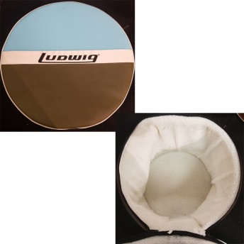 "LUDWIG - ATLAS CLASSIC HEIRLOOM DRUM BAG SET - 3 PIECE - 22""/12""/16"""