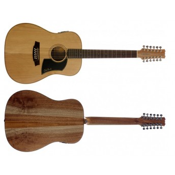 COLE CLARK – FAT LADY 1 – BUNYA/MAPLE 12-STRING DREADNOUGHT GUITAR