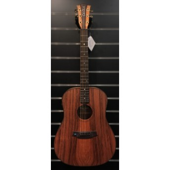 COLE CLARK – FAT LADY 2 – REDWOOD/MAHOGANY CUTAWAY DREADNOUGHT GUITAR