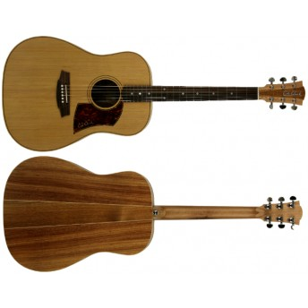 COLE CLARK – FAT LADY 2 – CEDAR/BLACKWOOD DREADNOUGHT GUITAR