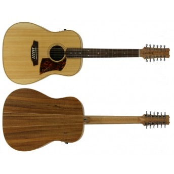 COLE CLARK – FAT LADY 2 – BUNYA/BLACKWOOD 12-STRING DREADNOUGHT GUITAR
