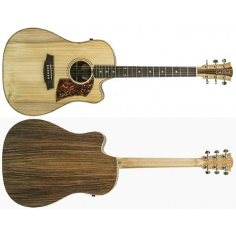 COLE CLARK – FAT LADY 2 – BUNYA/ROSEWOOD DREADNOUGHT CUTAWAY GUITAR