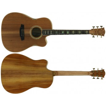 COLE CLARK – FAT LADY 3 – AUSTRALIAN BLACKWOOD CUTAWAY DREADNOUGHT GUITAR