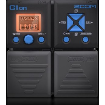 ZOOM – G1ON – GUITAR MULTI EFFECTS PEDAL