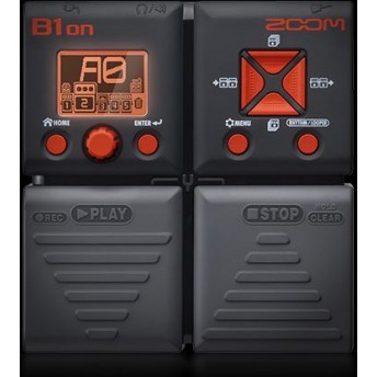 ZOOM – B1ON – BASS MULTI EFFECTS PEDAL