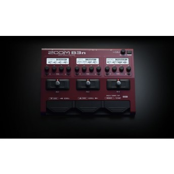 ZOOM – B3N – BASS MULTI EFFECTS & AMP SIMULATION PROCESSOR