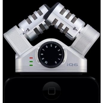 ZOOM – IQ6 – XY STEREO PROFESSIONAL STERO IOS MICROPHONE
