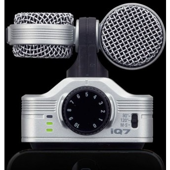 ZOOM – IQ7 – MS STERO PROFESSIONAL IOS MICROPHONE