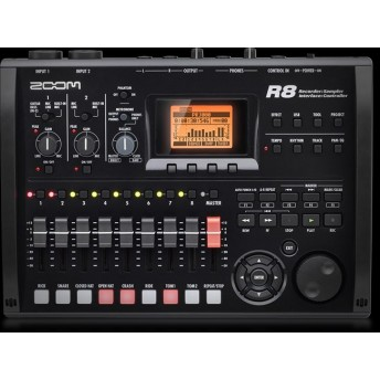 ZOOM – R8 – RECORDER/INTERFACE/CONTROLLER/SAMPLER