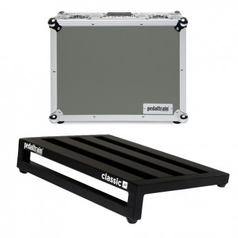 PEDALTRAIN – CLJ-TC – CLASSIC JR PEDALBOARD WITH TOUR CASE