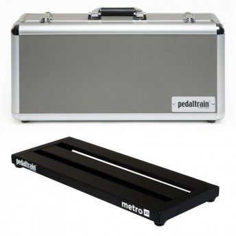 PEDALTRAIN – M20-HC – METRO 20 PEDALBOARD WITH HARD CASE