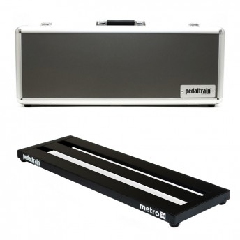 PEDALTRAIN – M24-HC – METRO 24 PEDALBOARD WITH HARD CASE