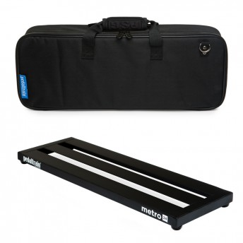 PEDALTRAIN – M24-SC – METRO 24 PEDALBOARD WITH SOFT CASE