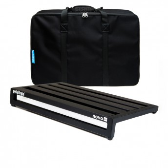 PEDALTRAIN – N24-SC – NOVO 24 PEDALBOARD WITH SOFT CASE