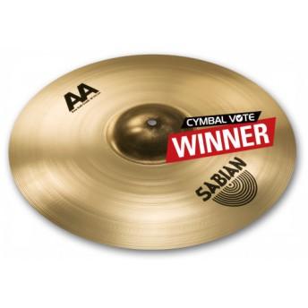 "Sabian 2160772B AA 16"" Raw Bell Crash Cymbal"