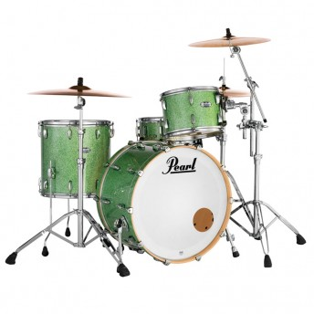 PEARL MASTERS MAPLE COMPLETE - 4 PIECE DRUM SHELL PACK - ABSINTHE SPARKLE FINISH