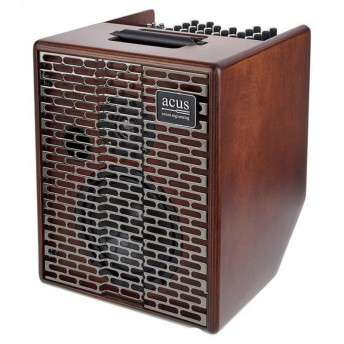 Acus One Forstring 6T 130W Acoustic Guitar Combo Amplifier Natural Wood