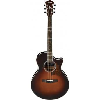 Ibanez AE205 BS Electric Guitar Brown Sunburst High Gloss 2019
