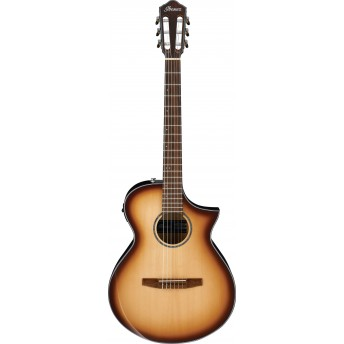 Ibanez AEWC300N NNB Acoustic Electric Guitar Natural Browned Burst High Gloss 2019