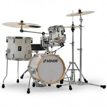 "Sonor AQ2 Martini 4 Piece 14"" Maple Drum Kit Shell Set - White Marine Pearl"