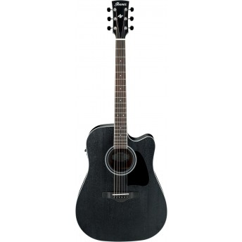 Ibanez AW84CE WK Acoustic Guitar Weathered Black 2019